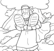 10 Commandments Coloring Page Good Commandments Coloring Pages Or