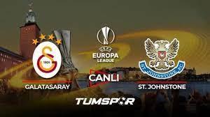 Galatasaray St. Johnstone maçı canlı izle! Spor Smart GS maçı canlı skor  takip! - Tüm Spor Haber