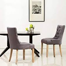modern decorative design tufted upholstered dining chairs