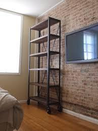 Custom Made Heavy Industrial Bookcase Book Shelf