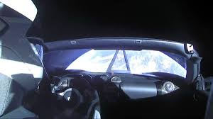 tesla car in space live. elon musk, tesla, and spacex made history another way today, too. this \u0027starman\u0027 stunt of sticking elon\u0027s red tesla roadster on the falcon heavy rocket with car in space live v