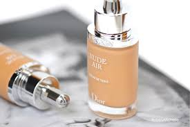 Diorskin Nude Air Serum Foundation Review Bubbly Michelle