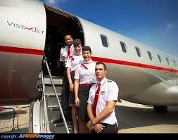 Vistajet Crew Members 9h Vjx Aircraft Pictures Photos