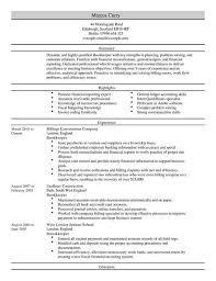Bookkeeper Cv Template Cv Samples Examples