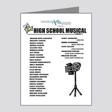 High School Musical Greeting Cards Cafepress