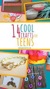 fun crafts for tweens pinterest. 14 cool + easy crafts for teens fun tweens pinterest