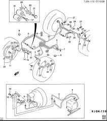 trying to brake line diagram for 1997 chevy s10 pick up 40 is the abs unit but this diagram below is the one you will want