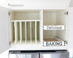 how to install pull out drawers and tray divider in kitchen cabinet