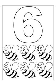 Più Adatto Per I Bambini Numeri Da Colorare Per Bambini Disegni