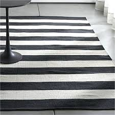 black and cream rugs black striped cotton rug crate and barrel within white area remodel 5 black cream area rugs