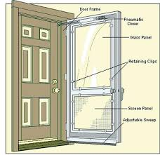 screen door locks storm sliding hardware anderson glass andersen doors and windows