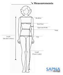 9 Printable Body Measurement Chart Body Measurement Chart