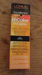l oreal excellence hicolor highlights ash blonde permanent hair dye color 1 2 oz ebay