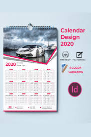 Product Calendar Design Calendar Design 2020 Corporate Identity Template