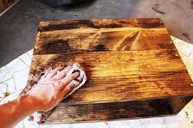how to remove white heat mark from wood table