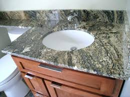 how to install undermount bathroom sink to granite cozy undermount bathroom sinks for granite countertops single