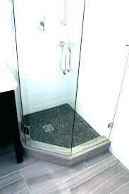 neo angle shower base sterling angle shower sterling angle shower base new tile ready solid surface