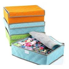 <b>24 Grid</b> Closet <b>Storage Bag</b> Underwear Box Socks Organizer ...