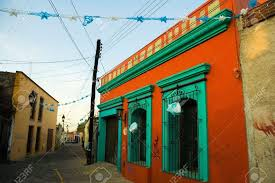 mexican house colors a vibrantly colorful house in oaxaca mexico stock  photo picture home designing inspiration