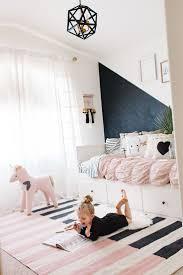 black bedroom rug. Pink Black And White Rug Rugs For Kid\u0027s Rooms Bedroom W