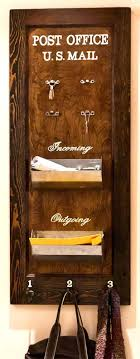 office door mail holder. Glamorous Reclaimed Wood Coat Rack And Mail Organizer Office Style Party Ideas For Thanksgiving Door Holder