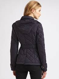 Burberry brit Lightweight Quilted Jacket in Blue | Lyst & Gallery Adamdwight.com