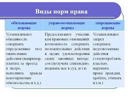 Понятие и виды норм права Магистр  Нормы права Понятие и виды норм права Курсовая работа