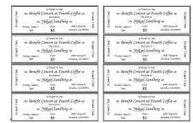 Avery Tickets Templates Avery Template For Microsoft Word Musacreative Co