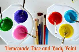 homemade easy face paint recipe fun