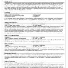 Nanny Resume How To Be The Best Nanny The Standout Nanny Resume regarding 77