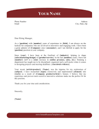 Cover Letter Headings Cover Letter With Header Footer Template