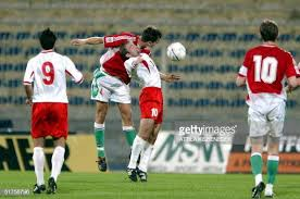 Malta's striker Ivan Woods vies with Hungary's Roland Juhasz as... News  Photo - Getty Images