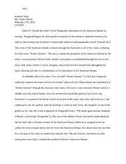 f scott fitzgerald compared winter dreams vs the great gatsby 7 pages winter dreams essay