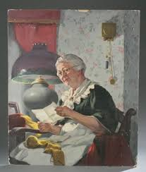 Grandmothers Letter by Priscilla Warren Roberts on artnet