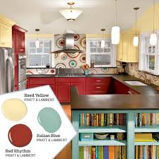Brilliant Kitchens Colors Ideas Colorful No Fail Kitchen Palette From This And Modern