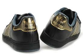 adidas shoes superstar black and gold. adidas superstar ii women black gold shoes and