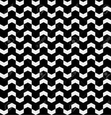 シェブロン柄レトロなビンテージ デザインは最小限の白黒シンプル背景