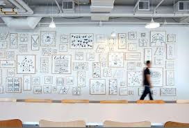 cool office art. Office Art Ideas Technical Drawing Wall Mural Cool D
