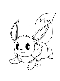 Small Picture Eevee coloring pages Free Printable Eevee coloring pages
