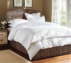 seagrass bedroom furniture. Delighful Furniture Seagrass Bed In Bedroom Furniture Pottery Barn