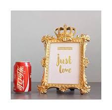 Amazon.com - <b>1 Pc Luxury</b> Style Gold Crown Decor Creative Resin ...