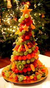 fruit christmas tree. Beautiful Christmas Fruit Christmas Tree Healthy And Pretty  Happy Holidays From  JeanneBenedictcom And Tree C