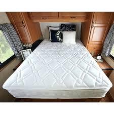 short queen camper mattress best rv topper comt
