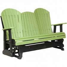 outdoor glider chair with ottoman. champlain garden seat glider with console outdoor chair ottoman l