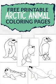 A wide variety of kids coloring sheet options are available to you, such as standard, material, and processing service. Free Printable Arctic Animal Coloring Pages Simple Mom Project