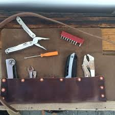 tool roll tumbled brown chromexcel