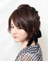 髪型 アレンジ 簡単 ショート 髪の美しさ