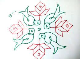 Telugu Muggulu Designs With Dots 48 13x1 Dots Parrot Rangoli Melikala Muggu Kolam Telugu