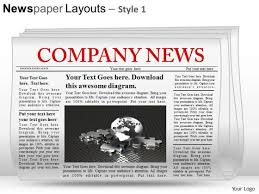 newspaper ppt template newspaper powerpoint templates slides and graphics