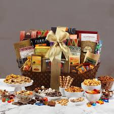 break out the flavored hot cocoa that es with this gift basket and sip in matching family mugs while you look through the rest of the gift baskets
